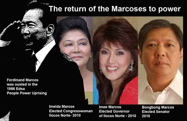 marcoses - Late President Marcos To Be Buried in Libingan Ng Mga Bayani? - Talk of the Town