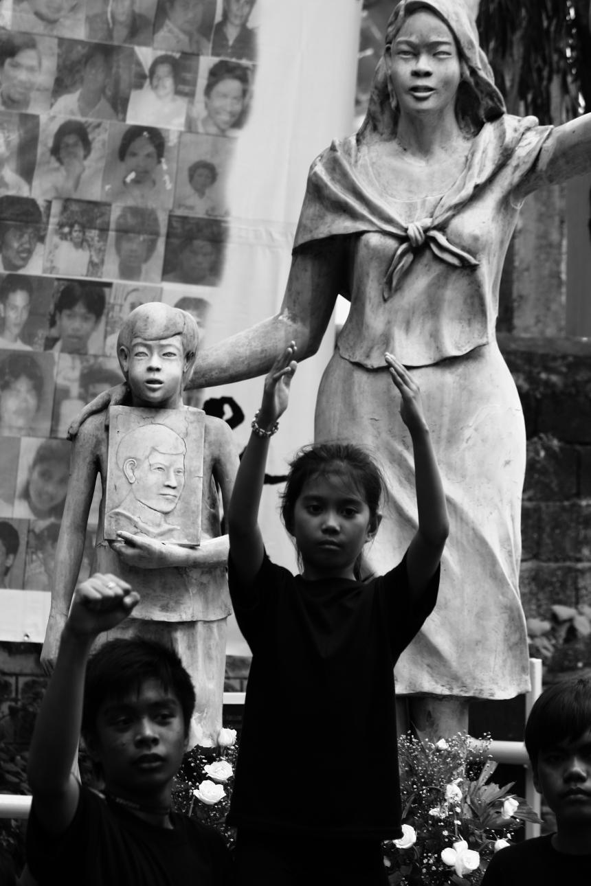 2011 Kalbaryo ng Kawalan ng Katarungan photo by Rommel Yamzon