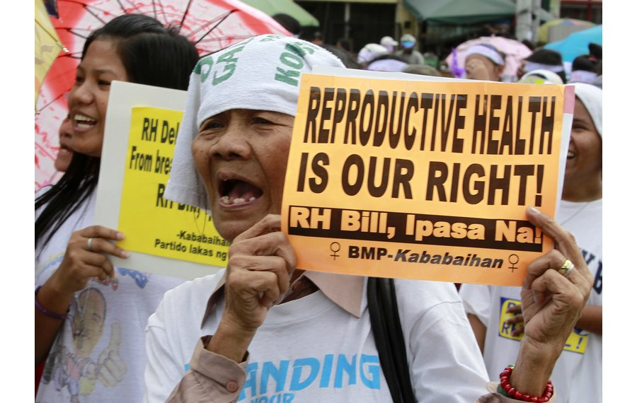 slogan on rh bill The rh bill ignores and nullifies this prohibition by promoting the use of contraceptives (through mandatory sex education under section 16) and by enabling a minor to demand reproductive health services even without parental consent under section 28 (a)(3)(4).