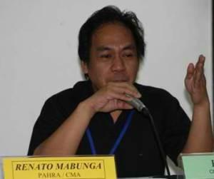 Renato Mabunga. Photo from CMA-Phils.