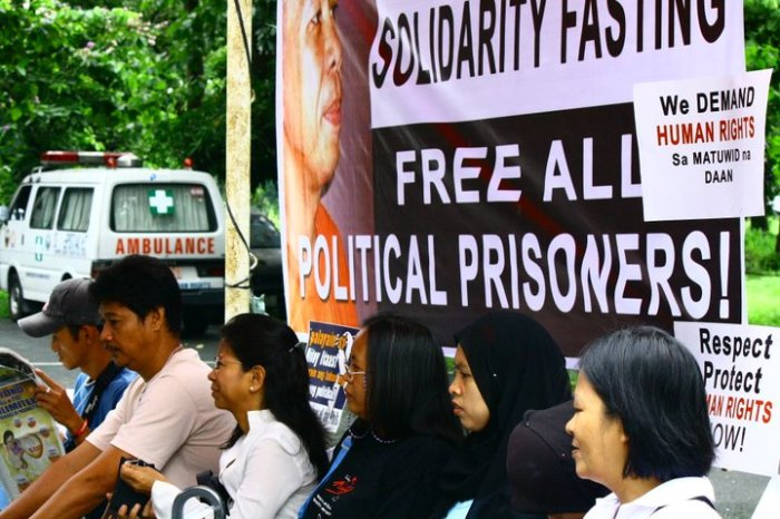 Solidarity Fasting for the Release of Political Prisoners July 28, 2011 photo by Rommel Yamzon/TFDP