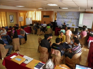 National Training on ASEAN HR Mechanisms Aug 18 to 19 2011. Photo by TFDP