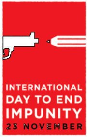 International Day to End Impunity poster