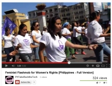 Feminist Flashmob for Women's Rights
