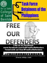 [Event] A group of students from the DLS-CSB joins #FREEourDEFENDERS campaign