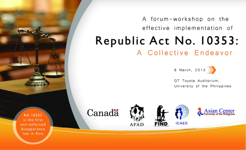 Forum Workshop Tarp