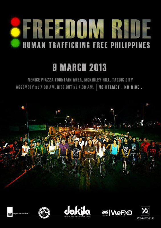 Freedom Ride for a Traffic Free Philippines by Dakila