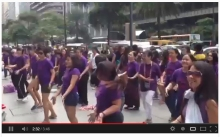 March 8 2013 International Womens Day Flashmob philippines screenshot