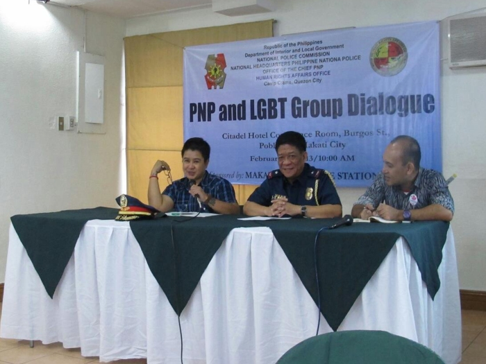 PNP and LGBT dialogue photo from Ging Cristobal FB copy