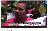 "[Video] ""Digitel Employees Union Hunger Strike Day 1″ on YouTube -DEU"