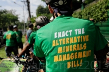 Sikad Padyak Laban sa Mining Act of 95 Photo by Susan Corpuz