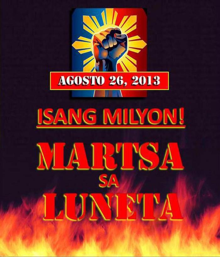 1 million march to luneta
