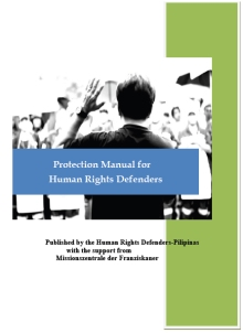 Protecttion manual for HRD cover