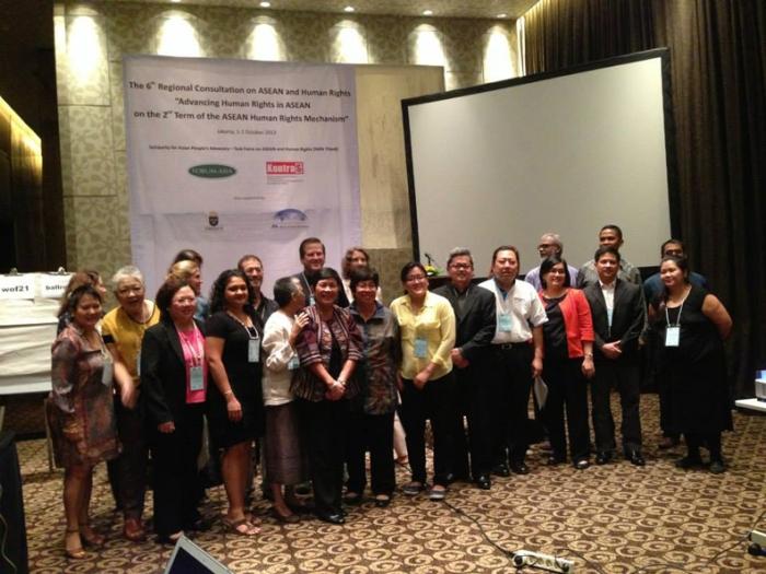 6th Regional Consultation on ASEAN and HR Photo by Corinna Araneta Lopa