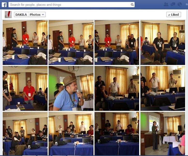 DIGIBAK screengrab from DAKILA FB