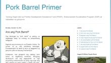 Pork Barrel Praymer
