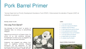 Pork Barrel Praymer