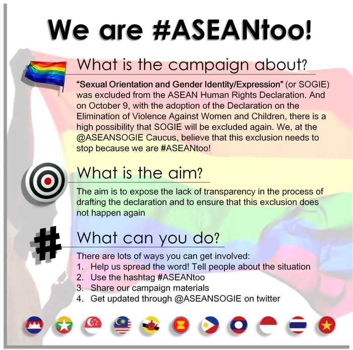 We Are ASEAN too