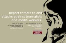 Report cases of attacks, threats, and killings of journalists and media workers -CMFR