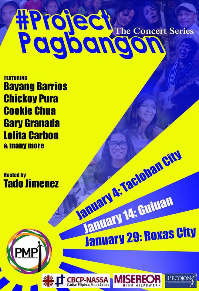 Project Pagbangon the concert series