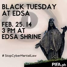Black Tuesday EDSA