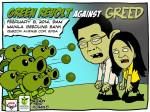 Green Revolt against Greed
