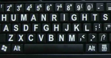 HR keyboard copy