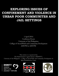 exploring the problem of violence in Critical issues in policing series: gang violence: the police role in developing community-wide solutions global problem of gang violence.