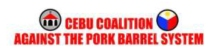 Cebu Coalition Against The Pork Barrel System
