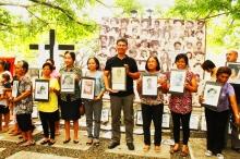 Kalbaryo ng Kawalan ng Katarungan - KKK (Calvary of the Absence of Justice) 2014. Photo by AFAD