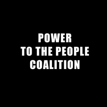 power to the people coalition