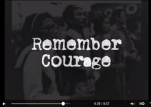 Remember courage