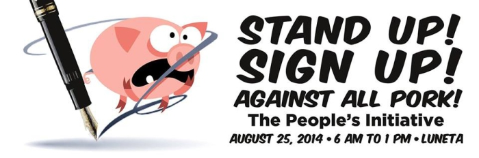 Aug 25 peoples Initiative Against Pork Barrel