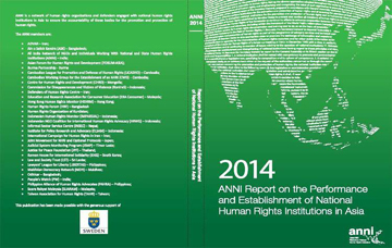 2014 ANNI report on NHRI in ASIA