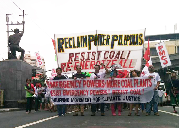 Resist coal Reenergize all photo by PMCJ