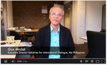 Gus Miclat of IID on Human Security