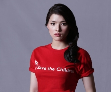 Kylie Padilla represents Save the Children