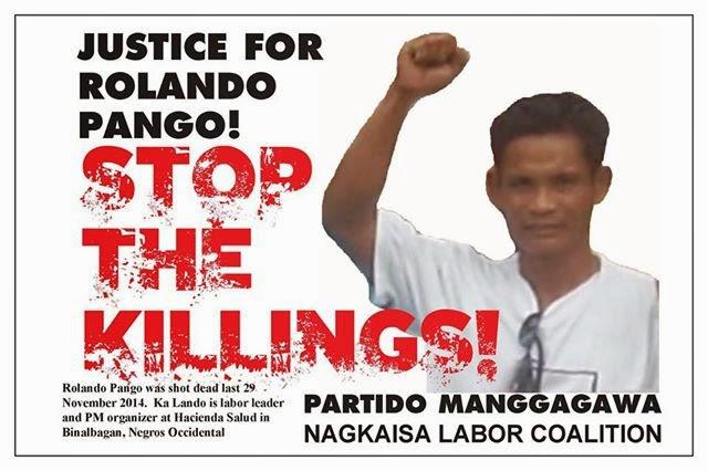 Justice Rolando Pango