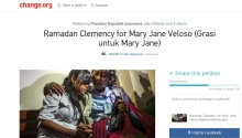 Ramadan clemency for Maryjane
