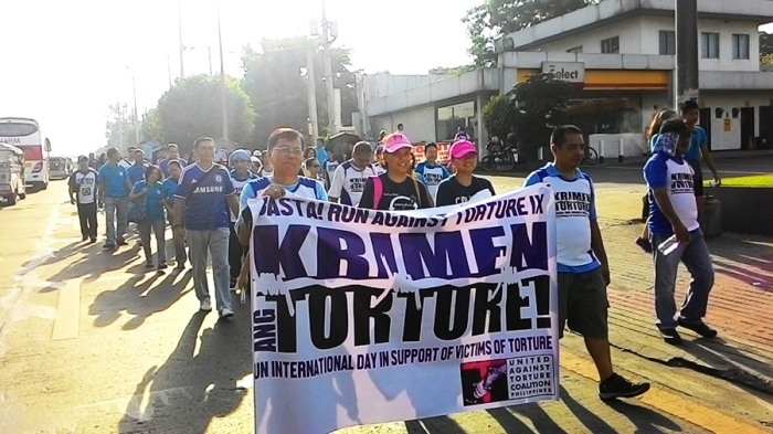 Basta! Run Against Torture (BRAT IX) photo by Egay