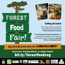 Forest Food Fair Haribon