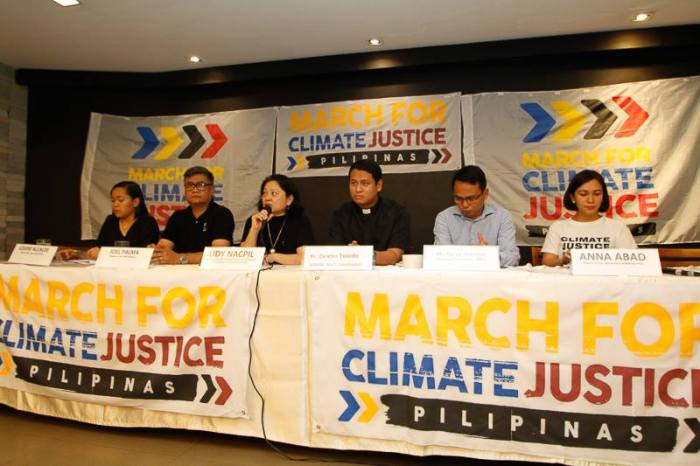 March for Climate Justice Ph
