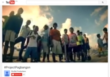 project pagbangon video by shotlist
