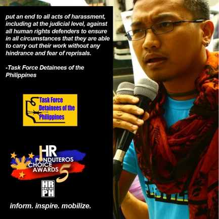 Human Rights Pinduteros' Choice for HR Campaigns