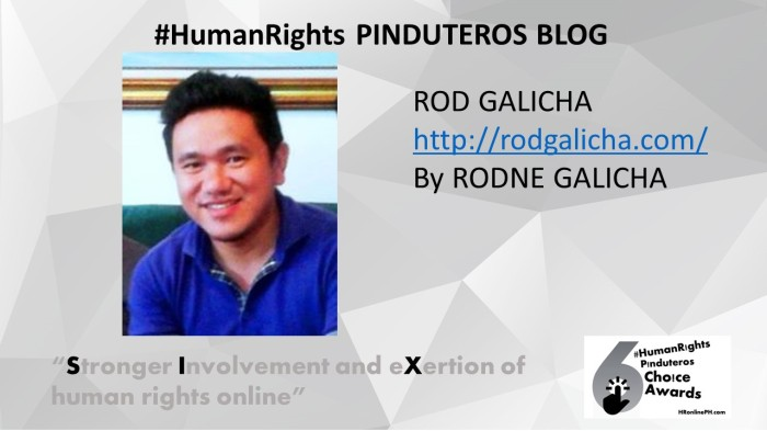 rodgalicha.com the 6th HR Pinduteros Choice for HR Blog